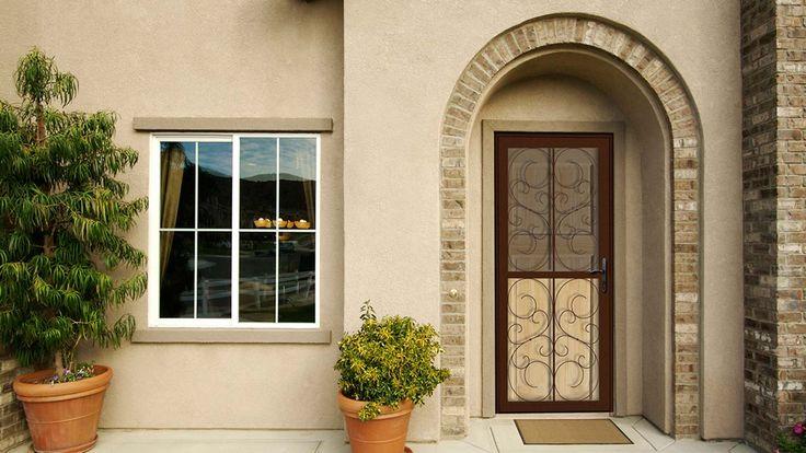 Unique Home Designs Steel Security Doors
