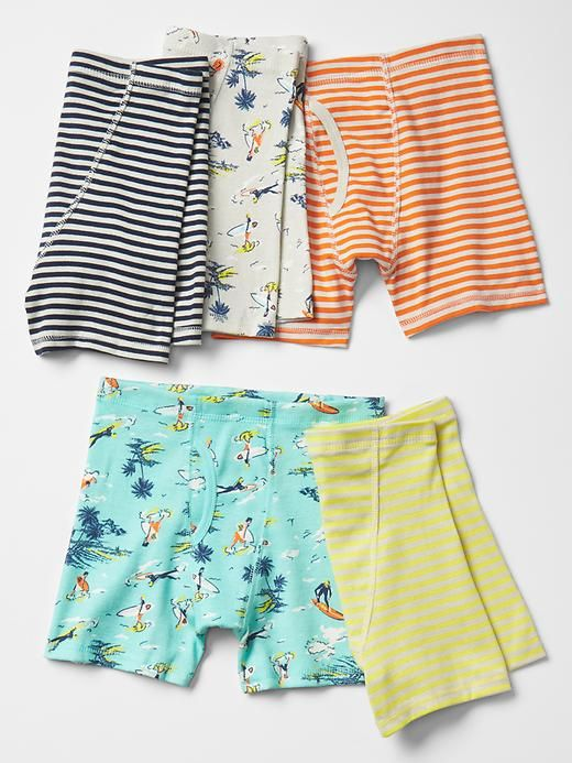 Tropic surf boxer briefs (5-pack) | Gap