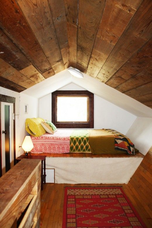 I've always wanted to live in an attic room.