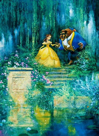 although tangled is making its way up there beauty and the beast will always be my favorite disney princess movie <3