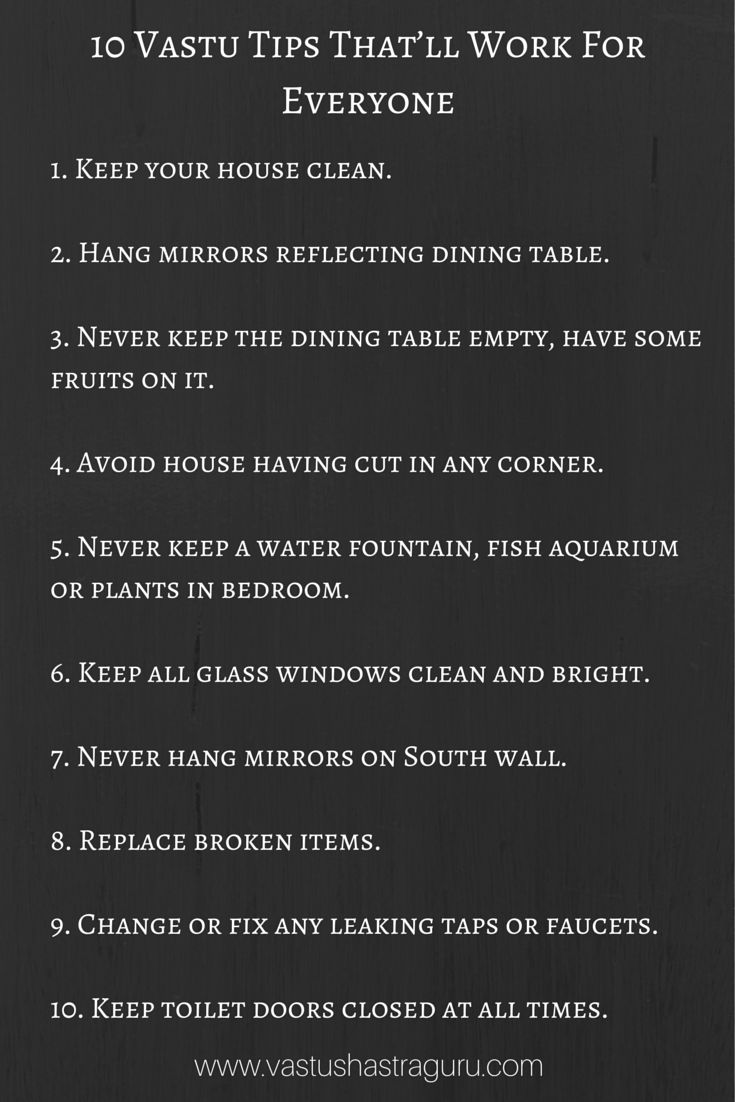 Some simple & effective #vastu tips that'll work for anyone.