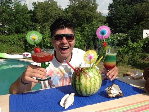 Bombastický recepty na letní osvěžující drinky, Vařte s Majklem - YouTube