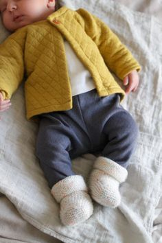 La tenue de naissance de mon bébé