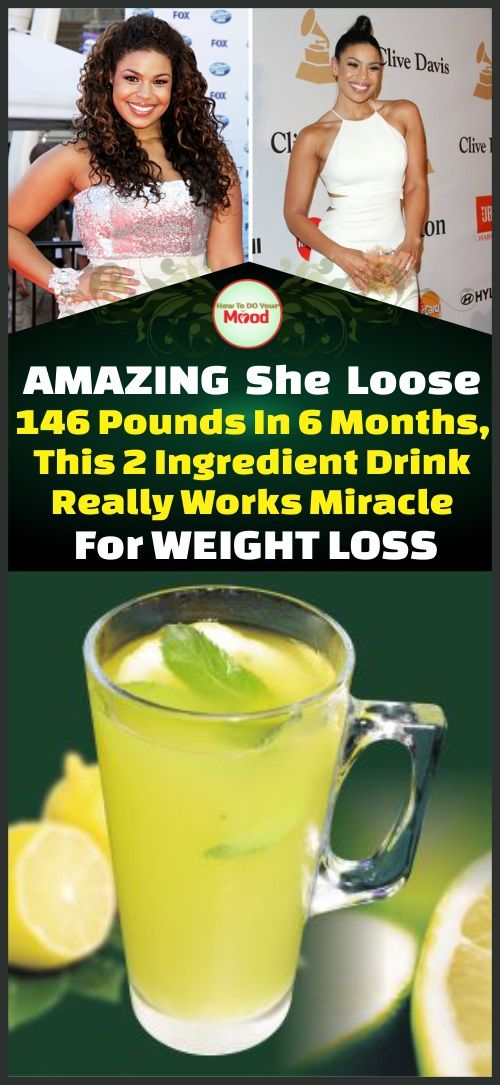 Lose 146 Pounds In 6 Months, This 2 Ingredient Drink Really Works Miracle For Weight Loss !!!!
