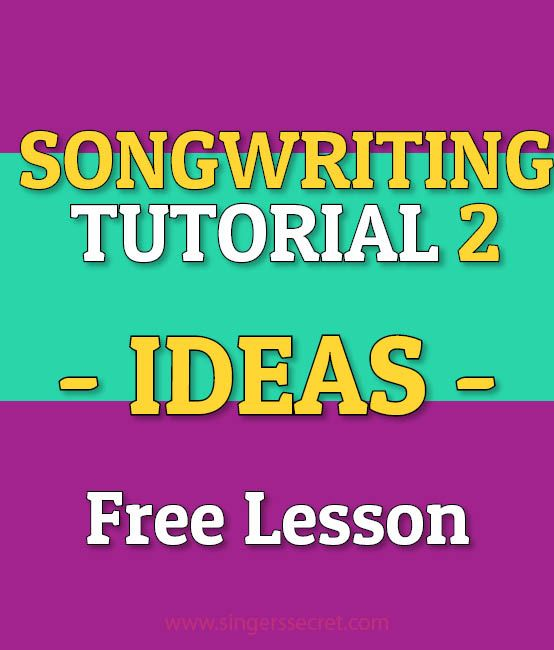 Songwriting lessons