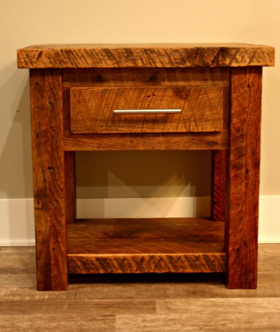 Diy Rustic Wood End Table: 1000+ Ideas About Rustic End Tables On Pinterest