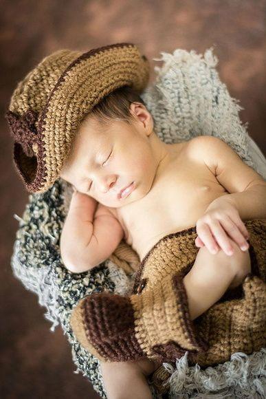 """Conjunto Baby Cowboy.  ***Foto gentilmente cedida por: """"Patrícia Machado Fotografia"""", do Rio de Janeiro***"""