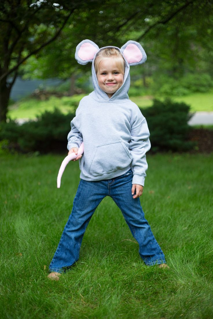 Mouse Hoodie Costume | Sew Mama Sew | Outstanding sewing, quilting, and needlework tutorials since 2005.