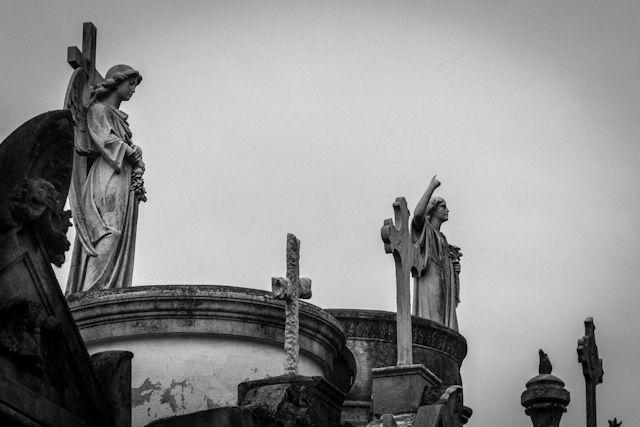 Cementerios de Buenos Aires, la Recoleta y la Chacarita