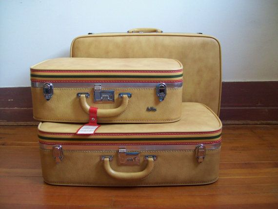 1000  images about Luggage on Pinterest | Vintage suitcases ...