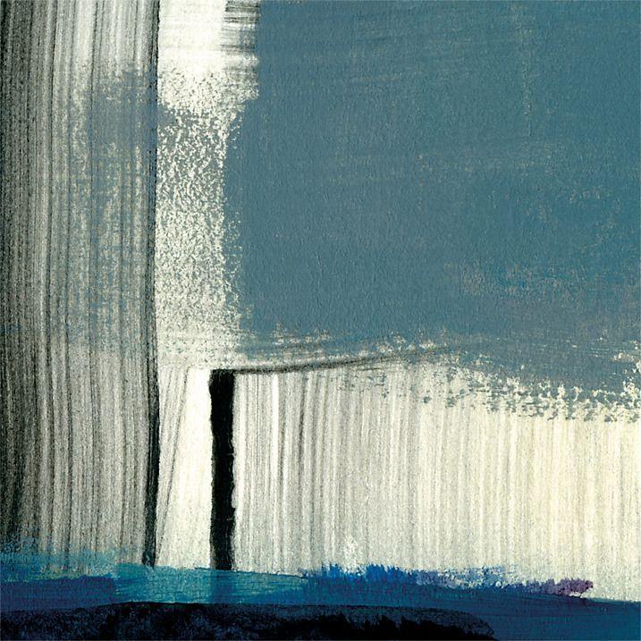 Buy J McKenzie - Blue Bird 3, Frameless, 40 x 40cm Online at johnlewis.com