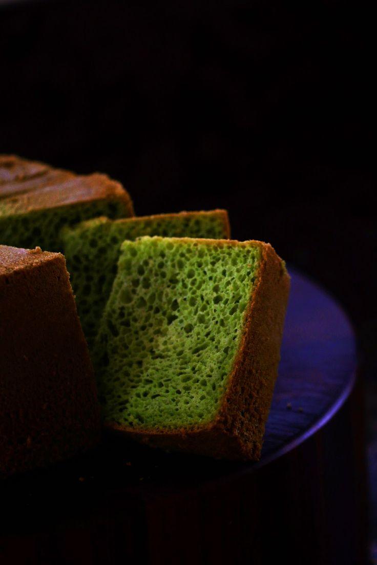 Pandan Chiffon Cake (Kue Pandan Chiffon)   My Indonesian Table