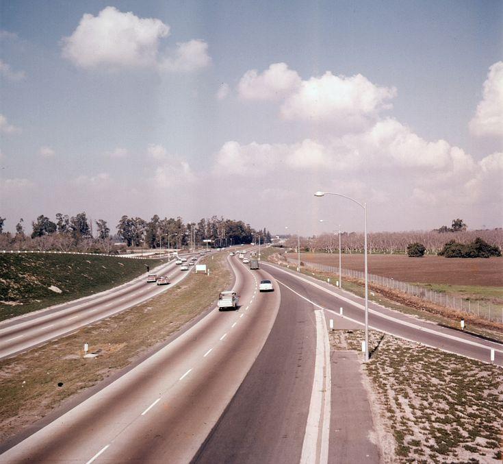 California Map Hwy 99%0A How the   Freeway Made Orange County Suburban