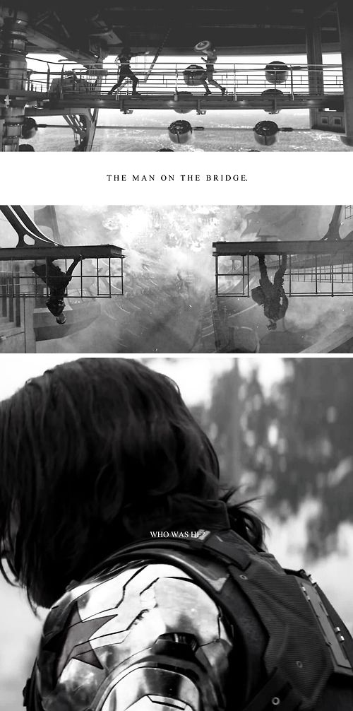 ''The man on the bridge... Who was he?'' / Captain America : The Winter Soldier