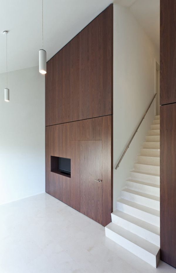 Compact White Cube House by YLAB Arquitectos in architecture  Category