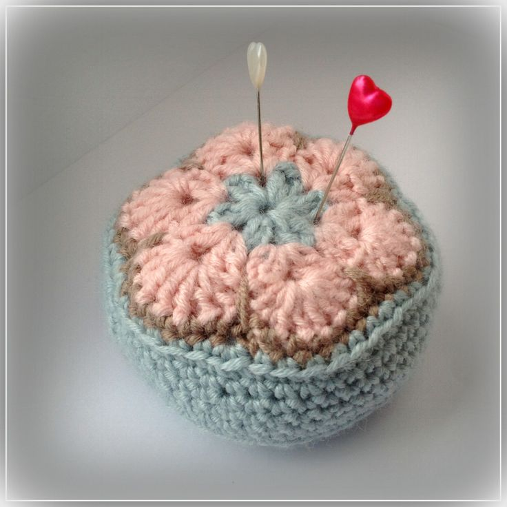 Crochet Pin Cushion - Handmade in East Linton by Catriona ...