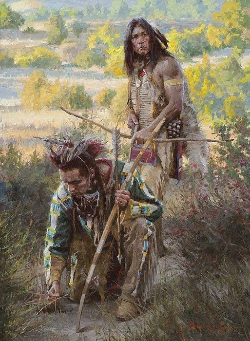"""The Trackers"" Morgan Weistling Limited Edition Giclee Canvas #Realism"