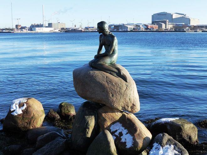 Lille Havfrue, la Petite Sirène de Copenhague