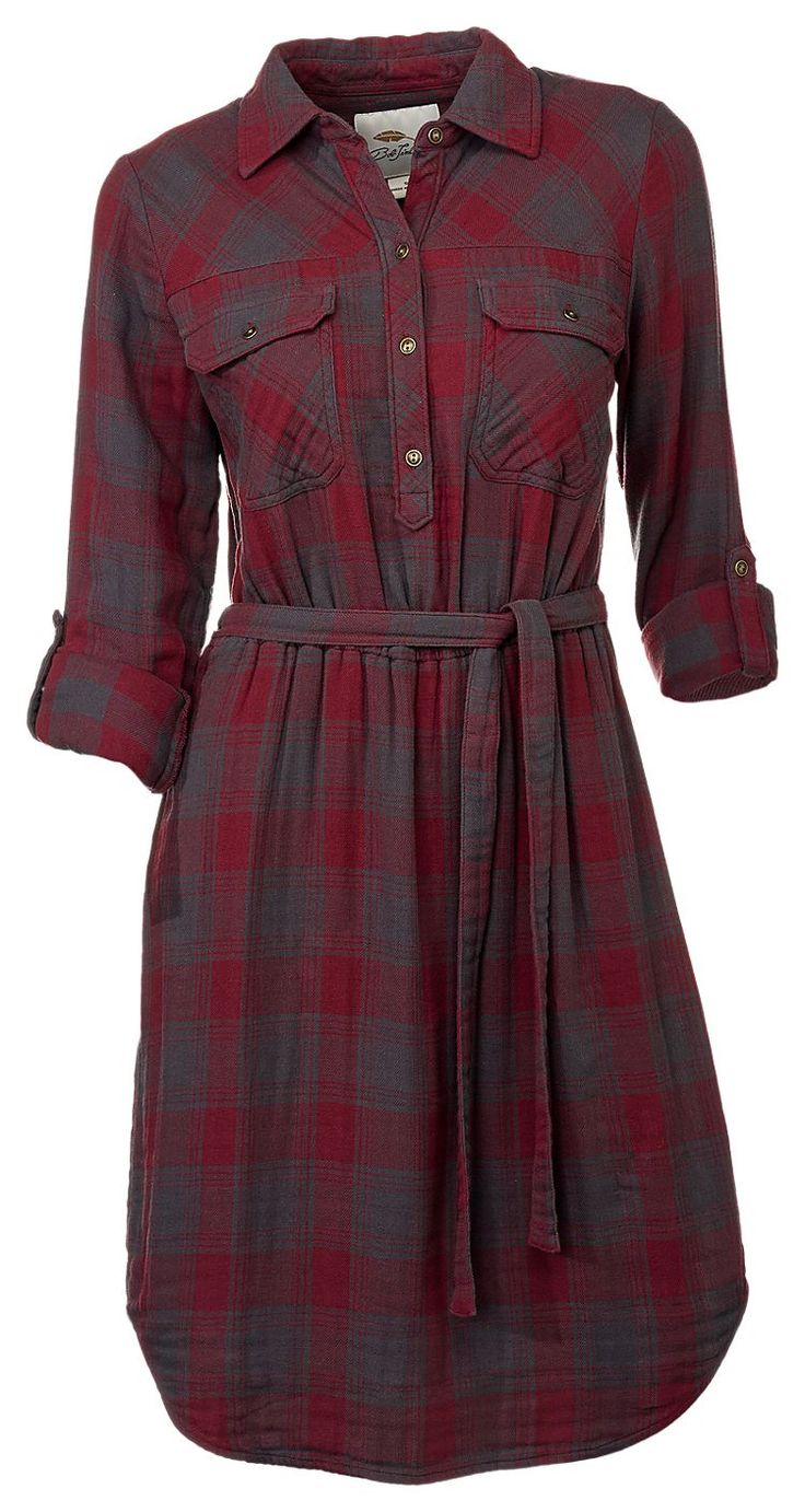 Bob Timberlake Plaid Shirt Dress for Ladies | Bass Pro Shops: The Best Hunting, Fishing, Camping & Outdoor Gear