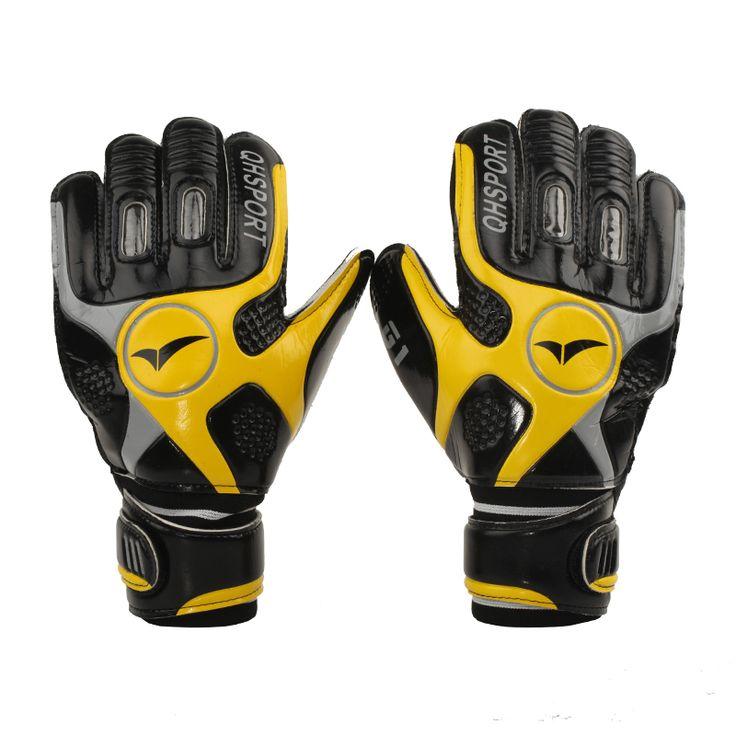 Best Price Professional Thicken Latex Football Goalkeeper Gloves Goalie Soccer Goal Keeper Finger #Goalkeeper #Gloves