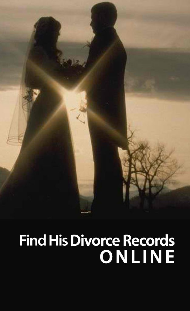 free public records of marriage and divorce