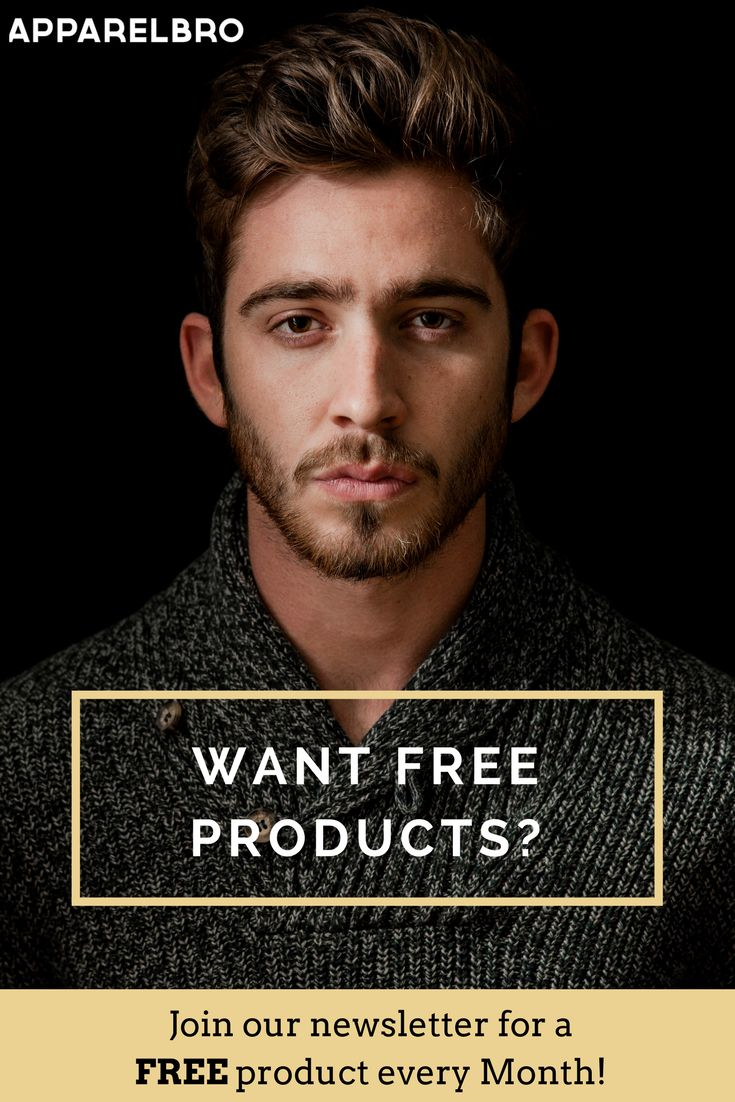 Want a FREE product every month? Sign up to our newsletter now at www.ApparelBro.com. What are you waiting for?😎