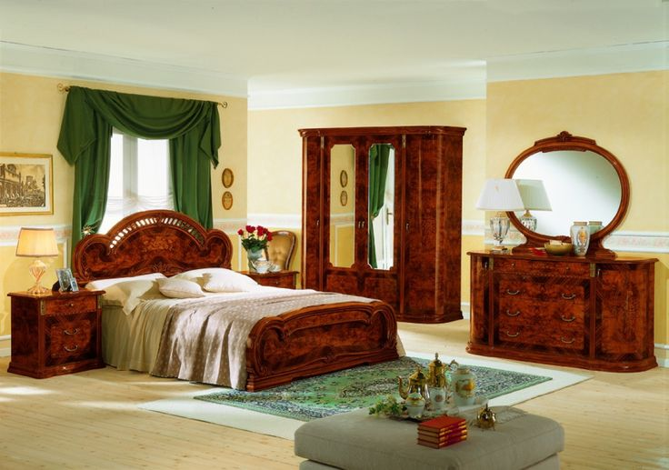 VIG Milady Italian Complete Bedroom Set VGCLMILADYS-1