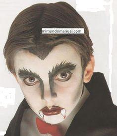 Maquillaje vampiro para halloween .DIY