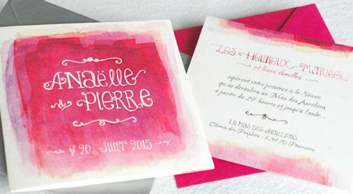 Красивые шрифты для акварельных приглашений на свадьбу