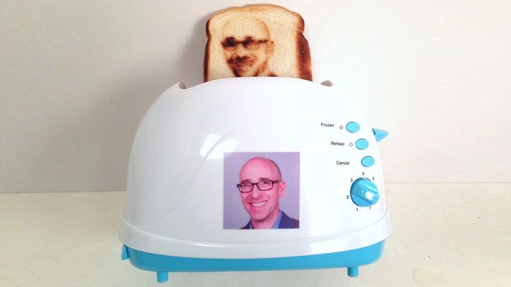 Custom Toasters That Can Toast a Selfie on BreadIdeas, Gadgets, Stuff, Funny, Breads, Things, Products, Novelty Toaster, Selfie Toaster