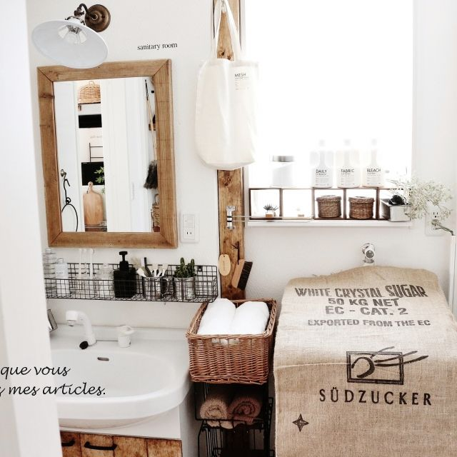lovelyzakkaさんの、洗面所,おはようございます♡,のお部屋写真
