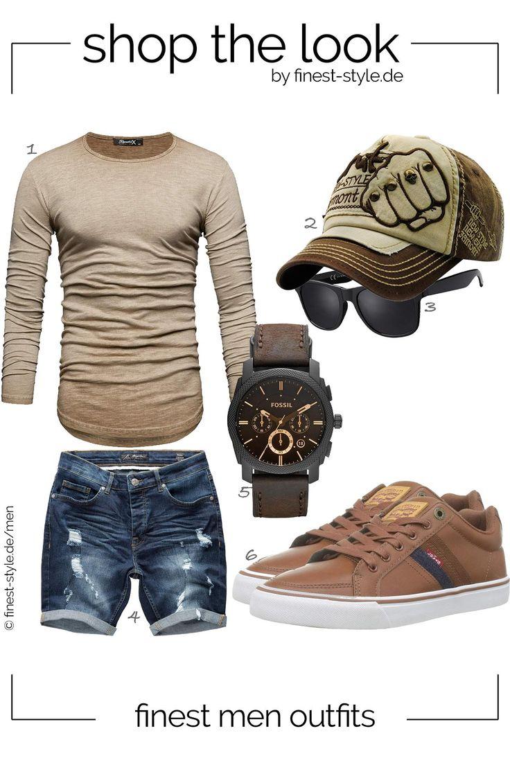 Moderner Style für Männer mit Klammotten von Fossil, FORH-Hut, Levis, La Optic… – Outfits for men – Bekleidung – Fashion