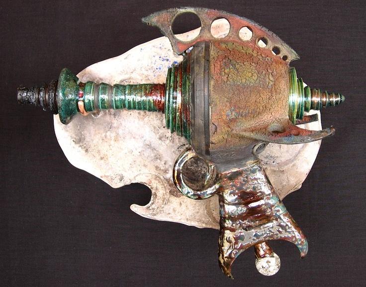 raku ray guy ceramics steampunk