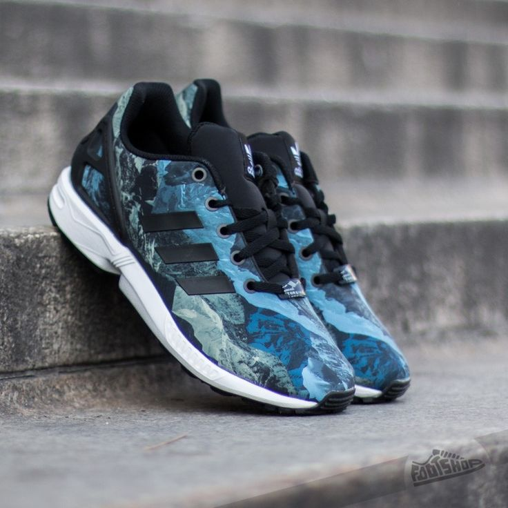 adidas ZX Flux K Core Black/Black/Ftw White