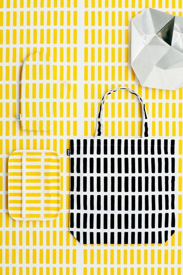 Graphic Textiles: abc Collection by Artek