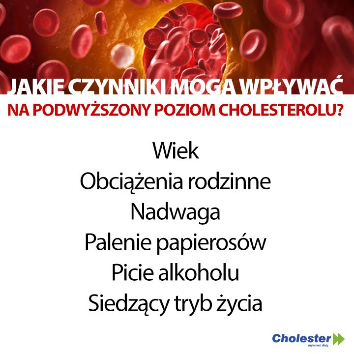 Czynniki wpływające na podwyższenie cholesterolu #cholesterol #HDL #LDL #zdrowie #edukacja
