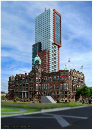 Hotel New York in Rotterdam, Zuid-Holland