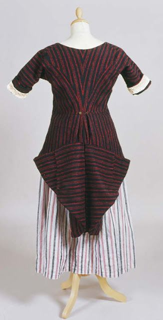 FolkCostume&Embroidery: Costume of Ceredigion or Cardiganshire, Wales or Cymru