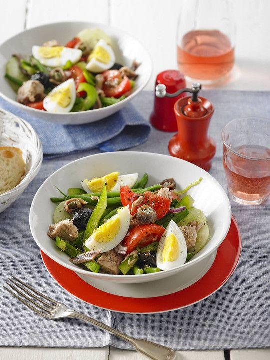 Salat nach Nizza - Art, ein schönes Rezept aus der Kategorie Kochen. Bewertungen: 16. Durchschnitt: Ø 4,1.