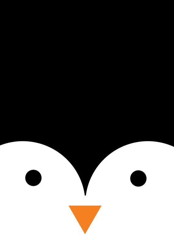 Penguin by Moonbeatle on Etsy
