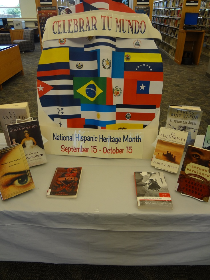 Library Display: National Hispanic Heritage Month