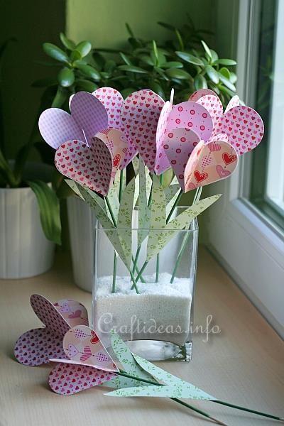 Paper Hearts Bouquet 1