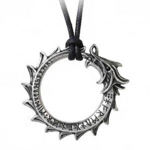 Colgante Vikingo Jormungard Alchemy Gothic