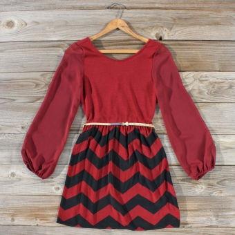 Winters Tale Chevron Dress... LOVE this!!