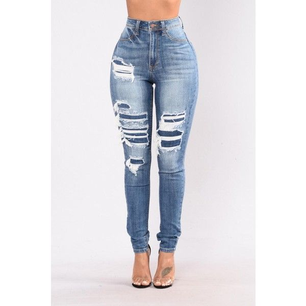 Jeans ($28) ❤ liked on Polyvore featuring jeans, distressed skinny jeans, ripped skinny jeans, white skinny jeans, white ripped skinny jeans and plus size skinny jeans