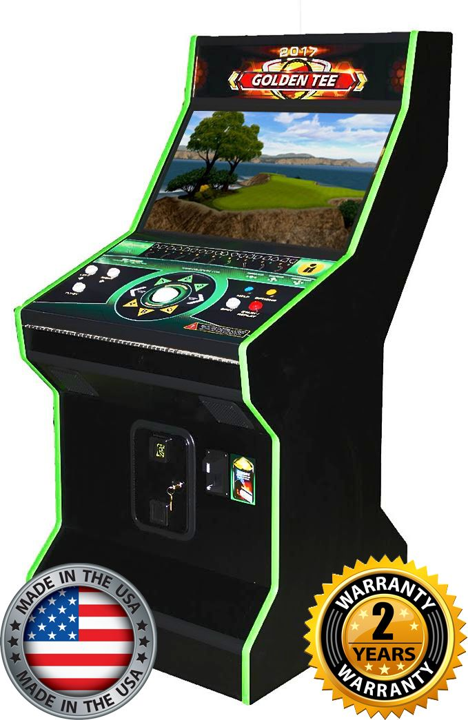 Golden Tee Golf Arcade Game 2017 32 Inch Unplugged