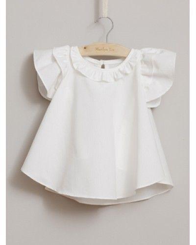 cute white shirt