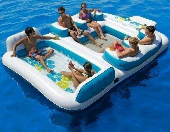 Air mattress, boat