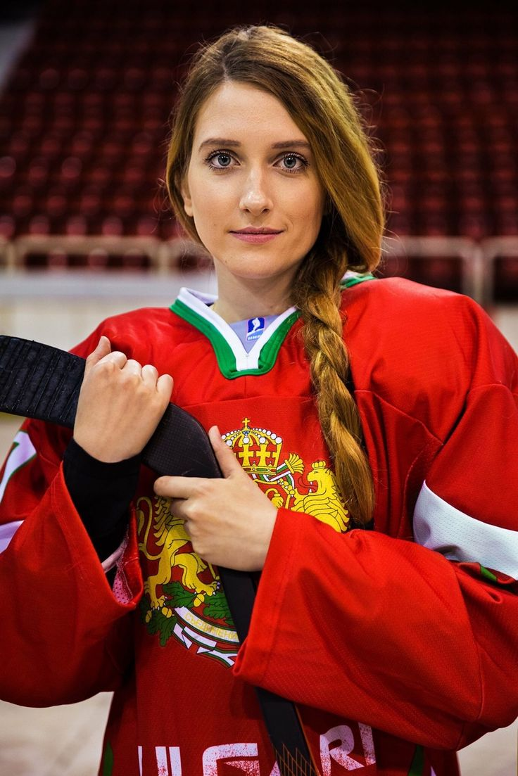 """Tzvetana is an amazing mix of grace and strength. Her name comes from the word """"flower"""", in Bulgarian. She plays in the national ice hockey team of Bulgaria. Although this sport is not very popular in her country, she put all the efforts in her..."""