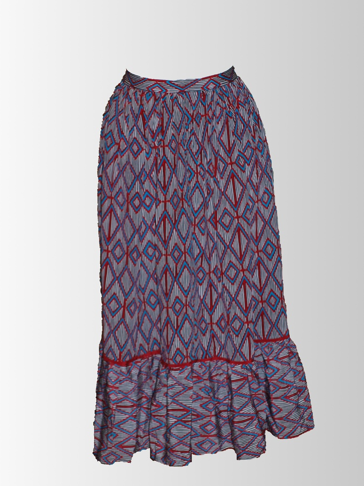 1980's Aztec Print Skirt from www.sixesandsevensvintage.com at 15.00     We just love this Aztec print!